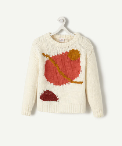 Knitwear radius - JACQUARD JUMPER WITH GRAPHIC MOTIFS