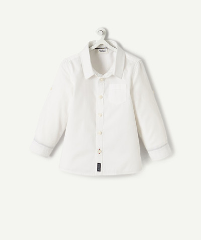All collection radius - WHITE SHIRT WITH POCKET