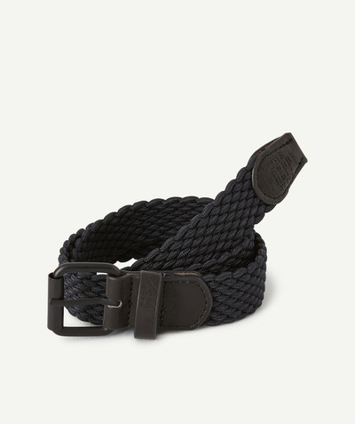 Accessories radius - CHARCOAL PLAITED BELT