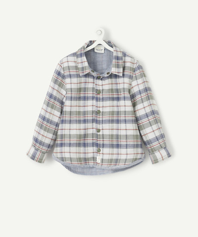 All collection radius - REVERSIBLE LUMBERJACK SHIRT