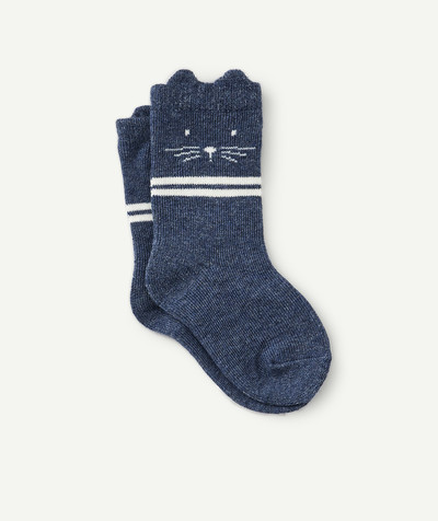 Accessories radius - PAIR OF BLUE RABBIT SOCKS