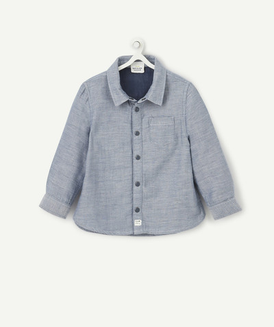 Shirt and polo radius - REVERSIBLE CHAMBRAY SHIRT