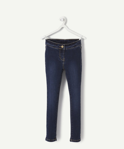 Leggings - Treggings family - TREGGINGS IN STONEWASHED DENIM WITH A FADED EFFECT
