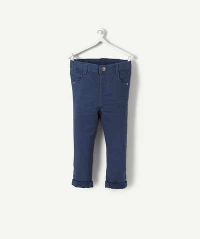 All collection radius - INDIGO SLIM TROUSERS