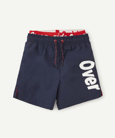 Accessories radius - NAVY BLUE TWO-IN-ONE EFFECT SWIMMING SHORTS