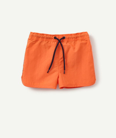 Collection plage Rayon - LE SHORT DE BAIN ORANGE