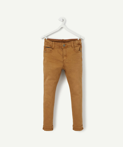 Trousers size + radius - CAMEL SKINNY TROUSERS, PLUS SIZE