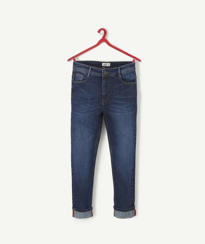Trousers - Jeans Sub radius in - RAW DENIM SLIM JEANS