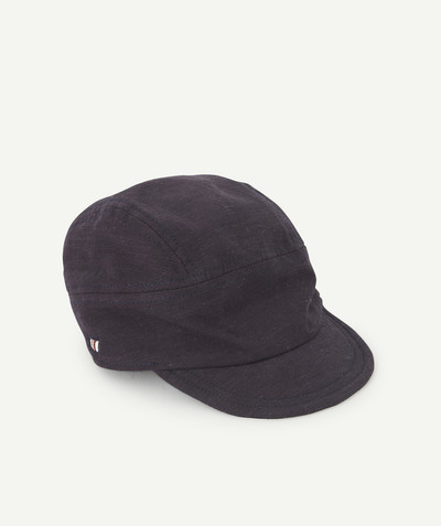 All collection radius - NAVY BLUE SUPPLE CAP
