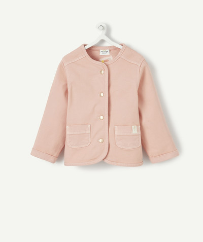 Coat - Padded jacket - Jacket radius - STRAIGHT PINK JACKET