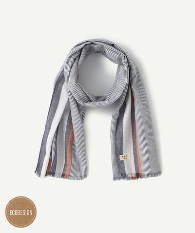 Baby-boy radius - STRIPED COTTON SCARF
