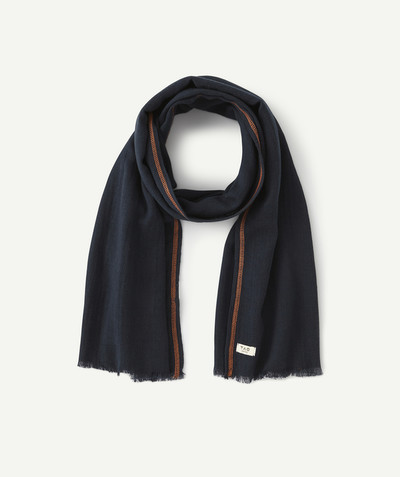 All collection radius - NAVY BLUE SCARF