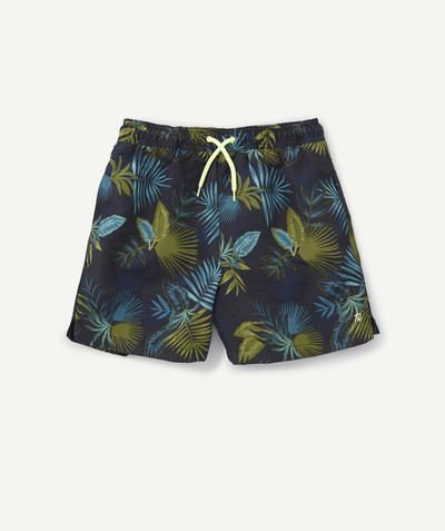 Swimwear family - TROPICAL PRINTED SWIMSUIT
