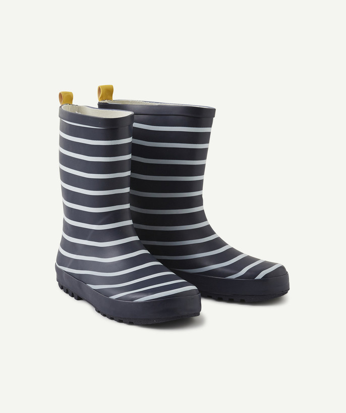 Shoes, booties radius - STRIPED RAIN BOOTS