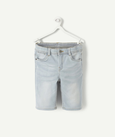 Bermuda - Short Rayon - LE BERMUDA EN DENIM CLAIR STRETCH