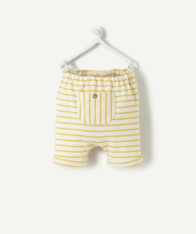 Clothing radius - YELLOW AND WHITE STRIPED BLOOMERS