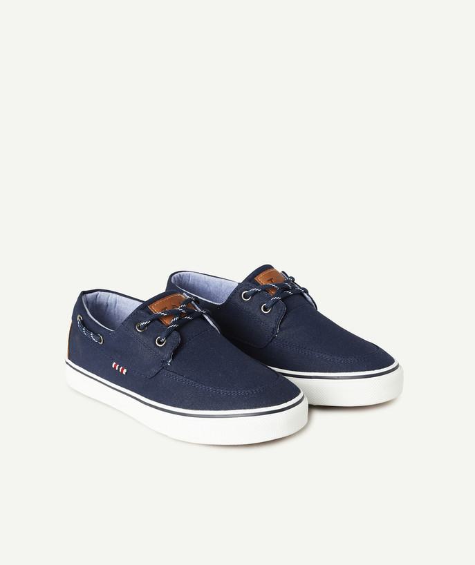 Shoes, booties radius - NAVY BLUE LOW-RISE TRAINERS