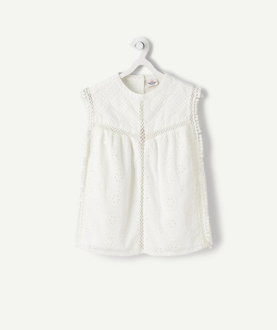 All Collection radius - LA BLOUSE BLANCHE AVEC BRODERIES ANGLAISES