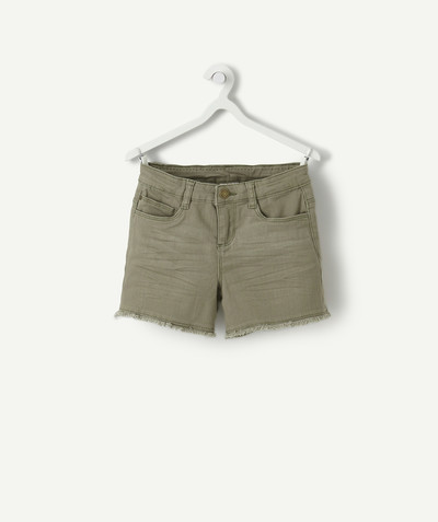Nouvelle collection Rayon - LE SHORT EN JEAN KAKI