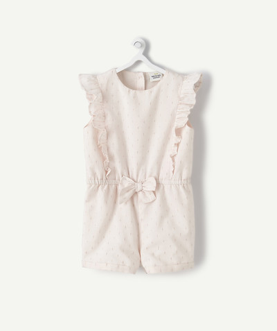 Jumpsuits - Dungarees radius - PINK PLAYSUIT WITH SEQUINS