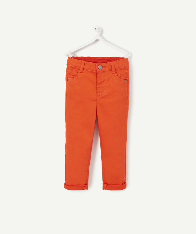 All collection radius - SLIM RED TROUSERS
