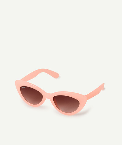 Special occasions' accessories radius - PINK BUTTERFLY-SHAPED SUNGLASSES