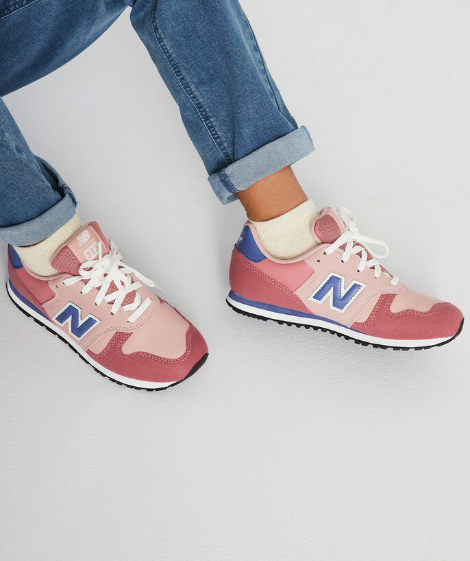 New Balance ® - 373 Rose And Blue Trainers - Basket Nb F Kpp Pink ...
