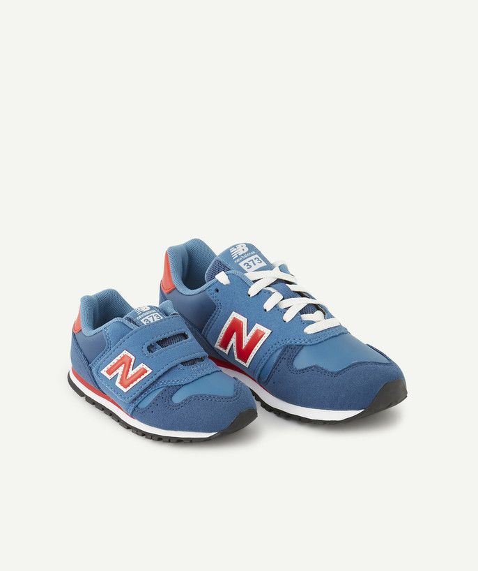 New Balance ® - 373 Blue And Red Trainers - Basket Nb G Knr Blue ...